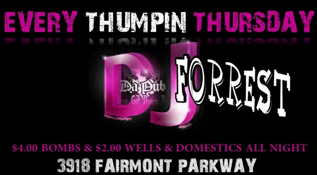 Thumpin' Thursdays at Da Pub with DJ Forrest