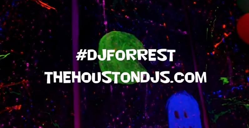 Neon party DJ