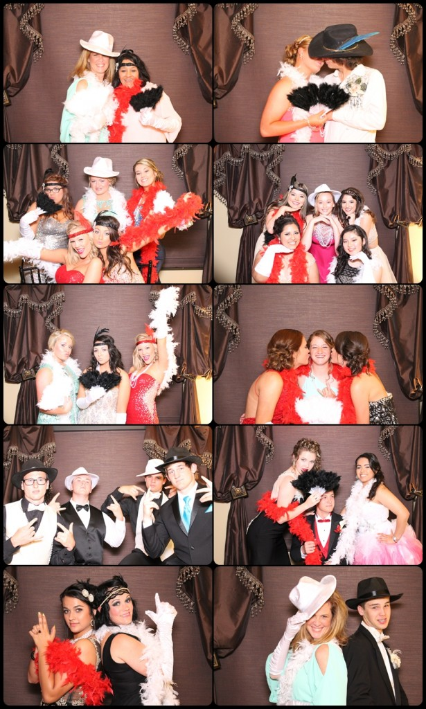 Prom photobooth