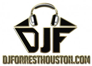 DJForrest with logo and web