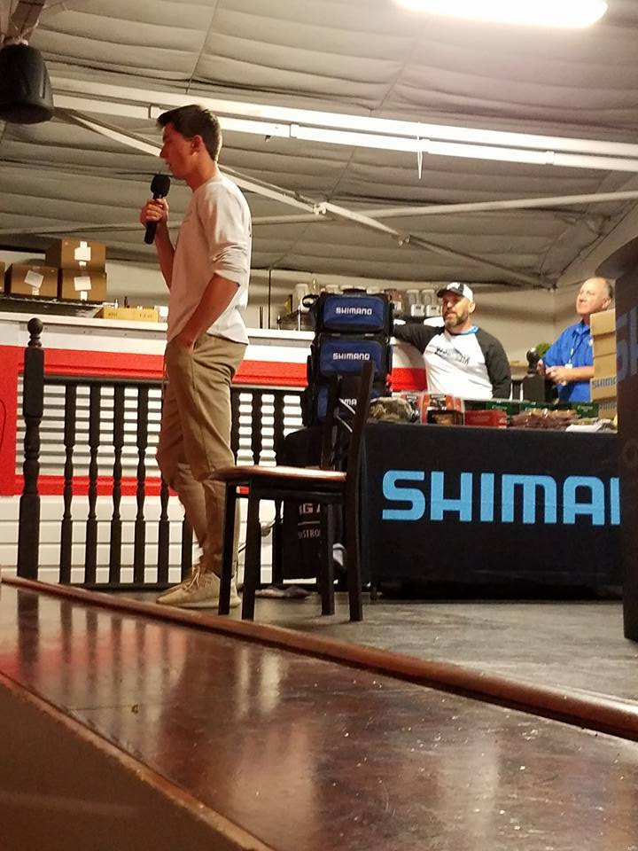 Shimano fishing event feat youtube sensation jon b for Jon b fishing